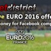 Euro 2016 KO stage competition on facebook, up to 115 Eur in prizes