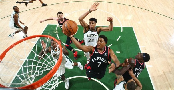 Bucks Raptors Game 2 handicapping