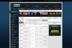 Carbon Sports website