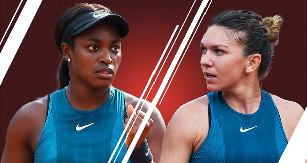 Halep Stephens Roland Garros final prediction