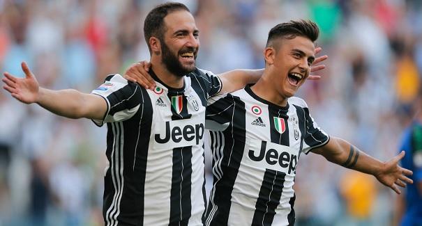 Higuain Dybala Juventus goals