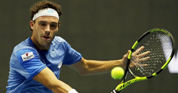 Lajovic Cecchinato Doha prediction