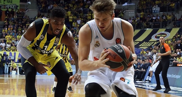 Luka Doncic Real Madrid Fenerbahce Euroleague final