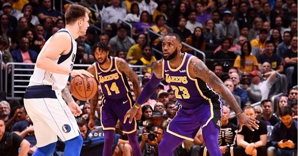 Doncic Lebron James Mavs Lakers
