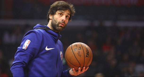 Milos Teodosic Clippers beard