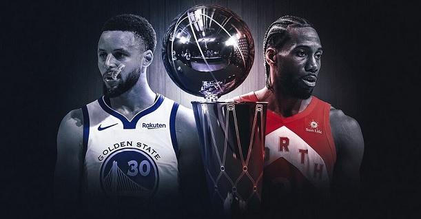 Steph Curry Kawhi Leonard NBA finals Warriors Raptors poster