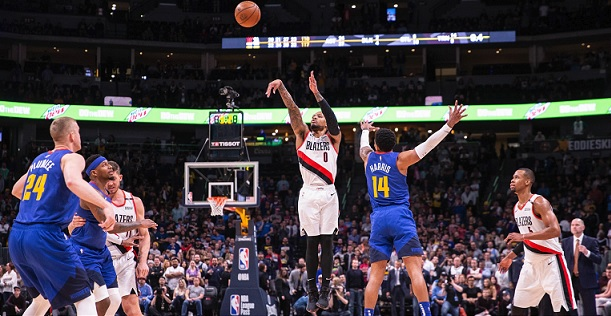 Nuggets Blazers Game 1 handicapping