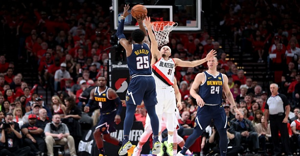 Nuggets Blazers Game 7 handicapping