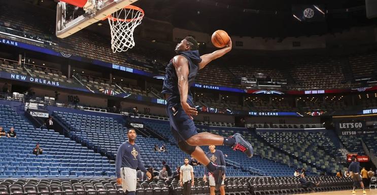 Zion Williamson points pick Pelicans Spurs