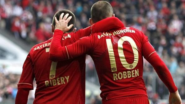 Robben Ribery Bayern Munchen