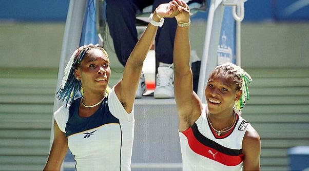 Serena Williams Venus Williams young