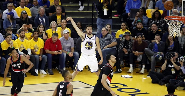 Warriors Blazers Game 2 handicapping