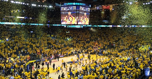 Warriors Raptors Game 6 Oracle Arena last game