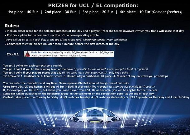 facebook tipster competition