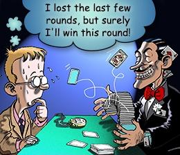 gambling fallacy poker