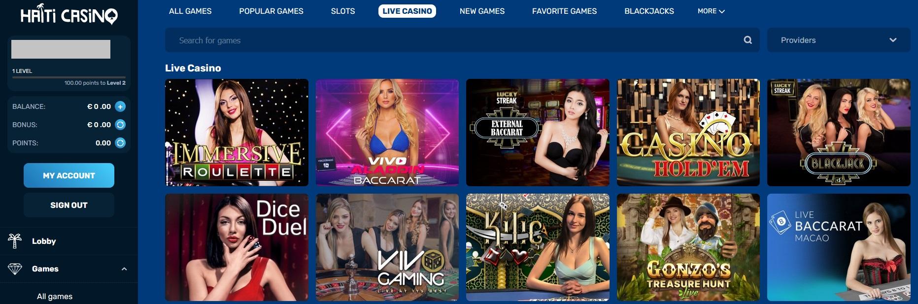 haitiwin casino review
