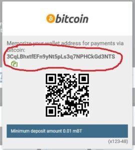 1xbit crypto deposits