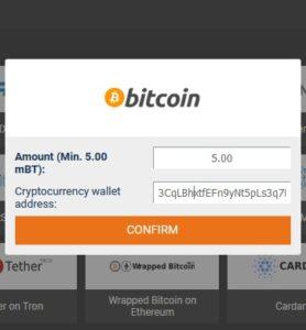 1xbit crypto withdraw