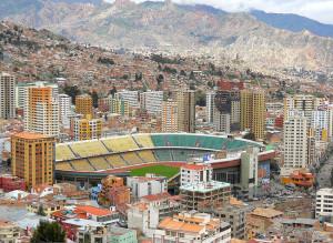 Bolivia La Paz home court advantage