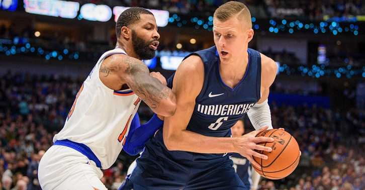 Knicks Mavs Garden Thursday Porzingis preview